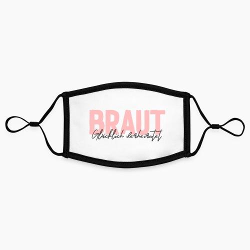 Braut - glücklich verheiratet - Contrast mask, adjustable (small)