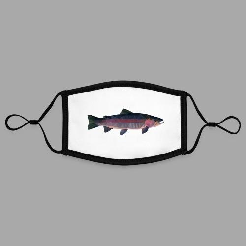 Trout - Kontrastivärinen maski, säädettävä (small)