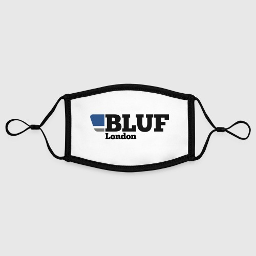 BLUF London - Contrast mask, adjustable (small)