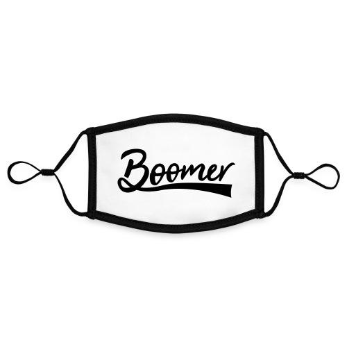 Boomer - Kontrastivärinen maski, säädettävä (small)