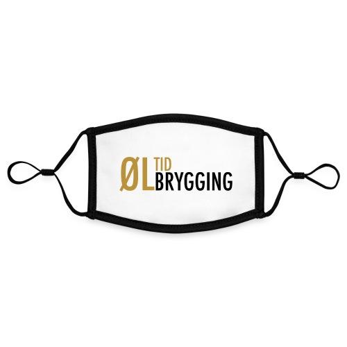 ØLTID ølbrygging svart2 - Kontrastmaske, kan innstilles (liten)