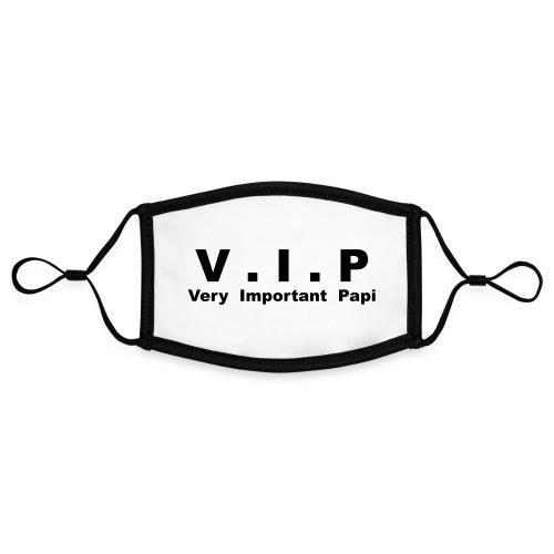 Vip - Very Important Papi - Papy - Masque contrasté, réglable (taille S)