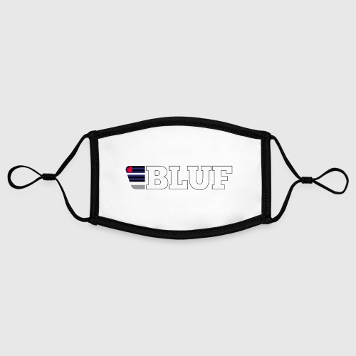 BLUF Leather Pride 2020 - Contrast mask, adjustable (small)