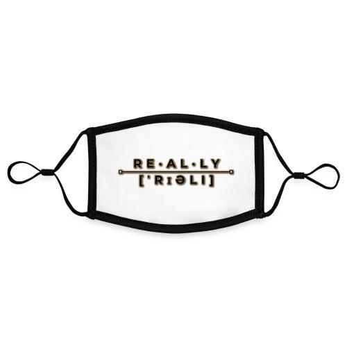 really slogan - Kontrastmaske, einstellbar (Small)