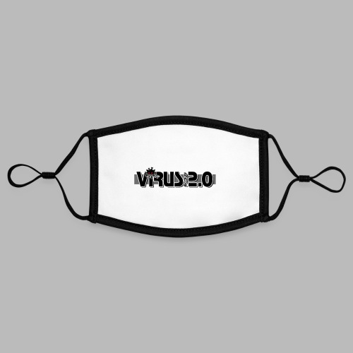 VIRUS 2.0 - Masque contrasté, réglable (taille S)