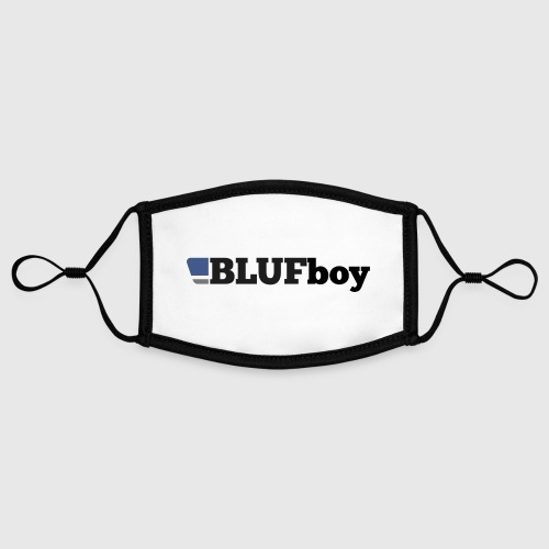 BLUF Boy - Contrast mask, adjustable (small)