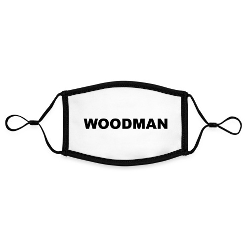 WOODMAN - Kontrastmaske, einstellbar (Small)