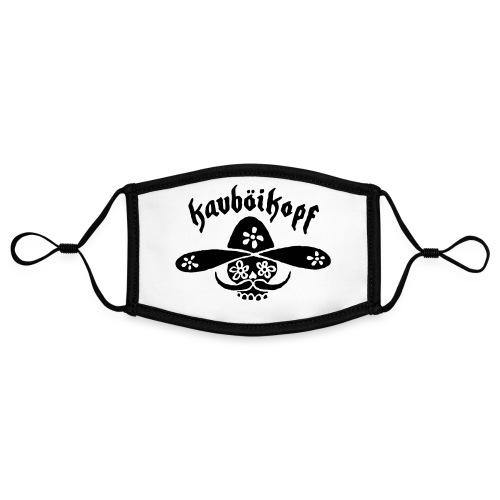 Kauboikopf - Kontrastmaske, einstellbar (Small)
