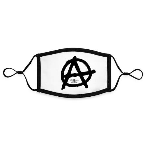 Anarchy - Masque contrasté, réglable (taille S)