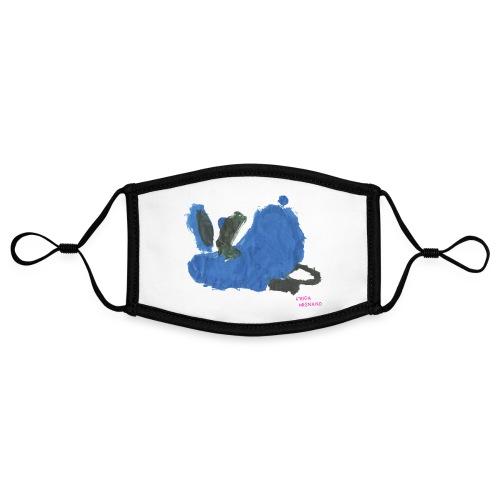 Fauler Hase Designed by Kids - Kontrastmaske, einstellbar (Small)