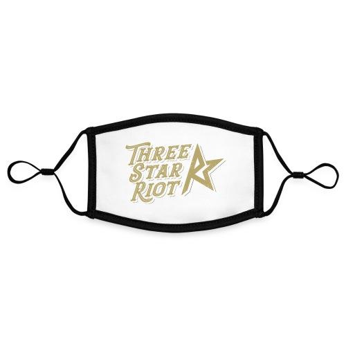 Three Star Riot logo väri - Kontrastivärinen maski, säädettävä (small)