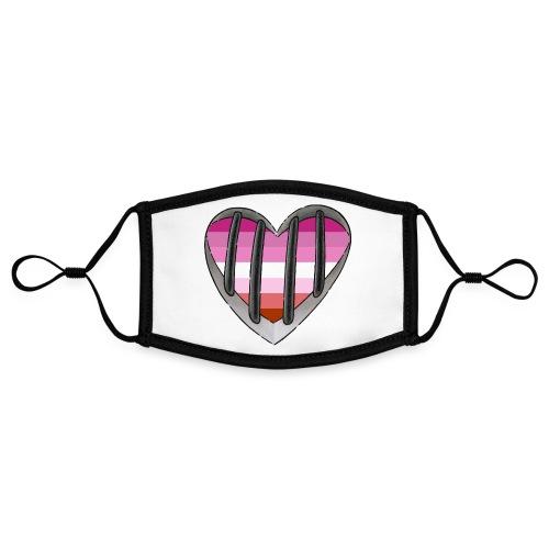 Coming Out - Kontrastmaske, einstellbar (Small)