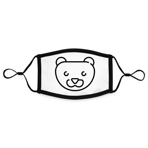 Simpel Stor Mink - Kontrastmaske, indstillelig (small)