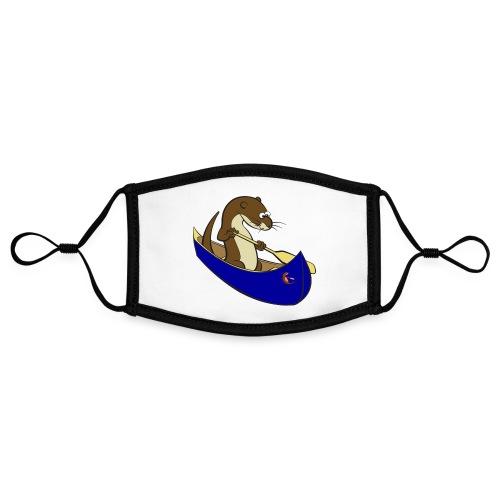 bluecanoewithsticker - Contrast mask, adjustable (small)