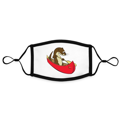 redcanoewithsticker - Contrast mask, adjustable (small)