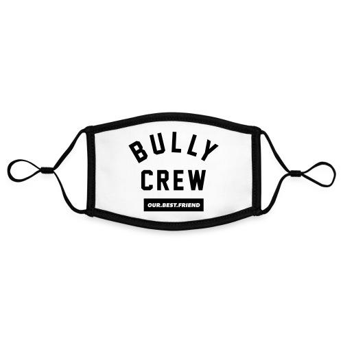 Bully Crew Letters - Kontrastmaske, einstellbar (Small)