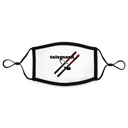 telemark-freeheel - Kontrastmaske, einstellbar (Small)