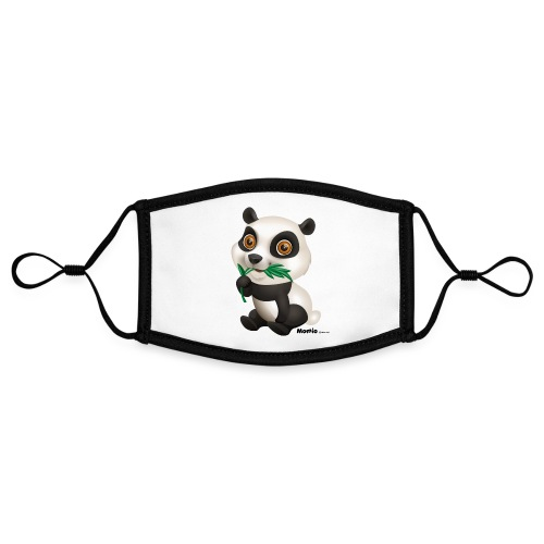 Panda - Kontrastowa maska, regulowana (rozmiar S)