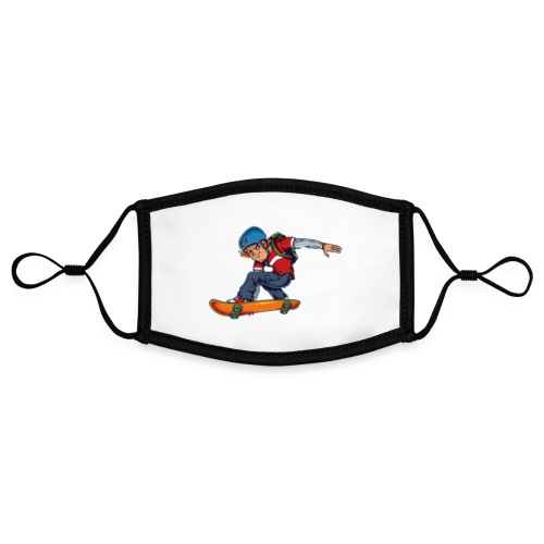 Skater - Contrast mask, adjustable (small)