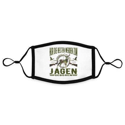 Jäger - Nur die Besten werden zum Jagen geboren - Kontrastmaske, einstellbar (Small)