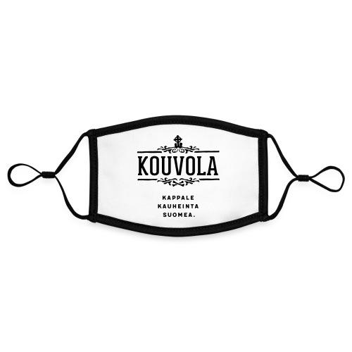 Kouvola - Kappale kauheinta Suomea. - Kontrastivärinen maski, säädettävä (small)