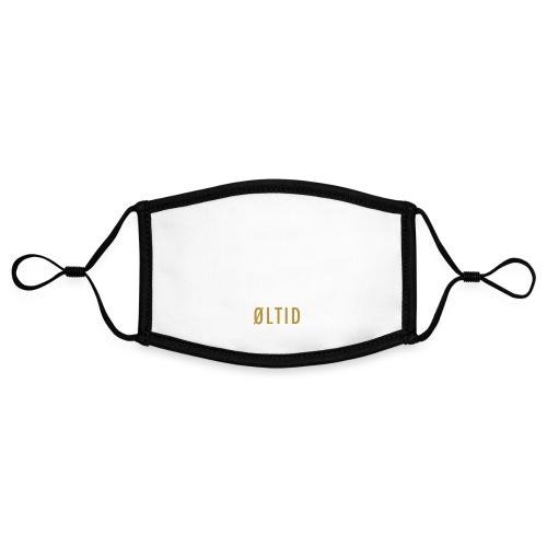 øltid hvitt langermet - Kontrastmaske, kan innstilles (liten)