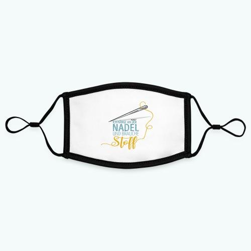 Nähen Nadel Frauen Spruch Handarbeit Poster - Kontrastmaske, einstellbar (Small)