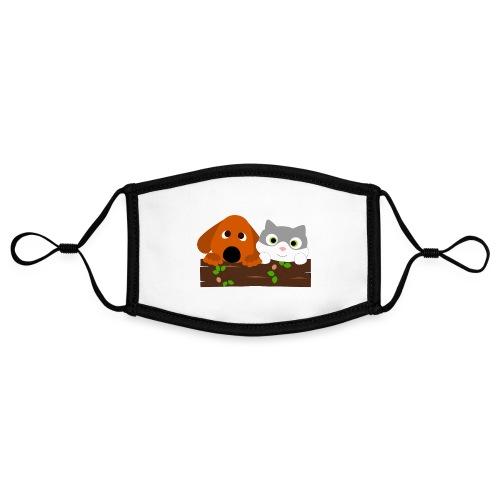 Hund & Katz - Kontrastmaske, einstellbar (Small)