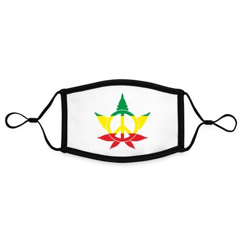 Peace färbig - Kontrastmaske, einstellbar (Small)