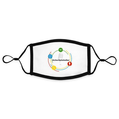 Sicherheitshalber Logo - Kontrastmaske, einstellbar (Small)