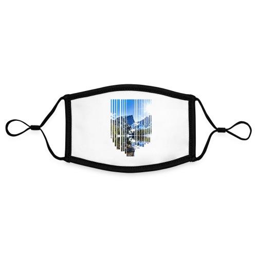 Mountain stripes - Kontrastmaske, einstellbar (Small)