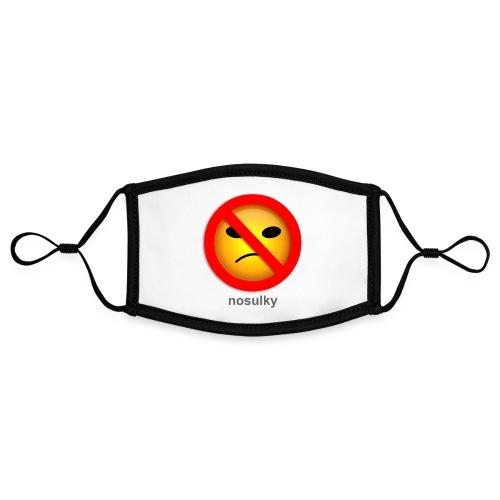 nosulky - Masque contrasté, réglable (taille S)