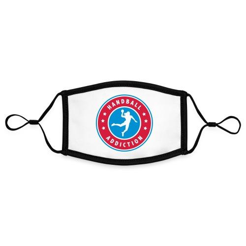 handball addiction femme - Masque contrasté, réglable (taille S)