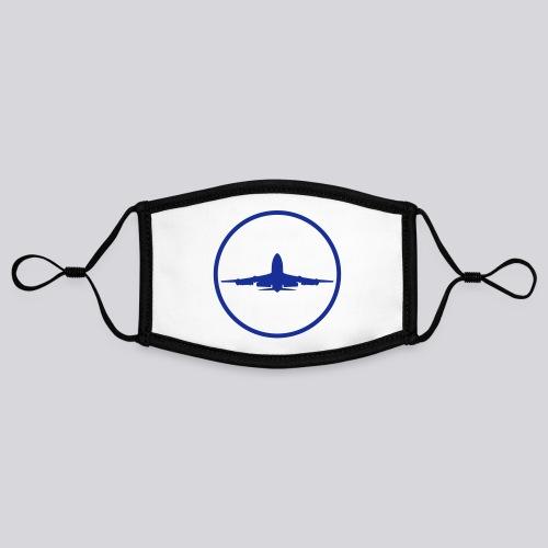 IVAO (symbole bleu) - Masque contrasté, réglable (taille S)