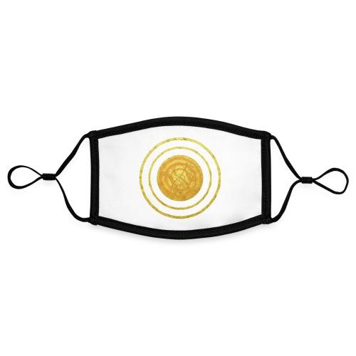 Glückssymbol Sonne - positive Schwingung - Spirale - Kontrastmaske, einstellbar (Small)