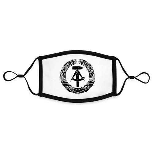 DDR Emblem - Kontrastmaske, einstellbar (Small)