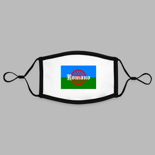 Flag of the Romanilenny people svg - Kontrastmask, justerbar (small)