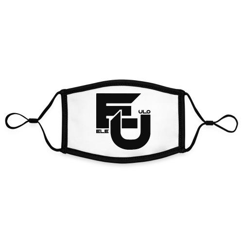 Ele & Ulo -fanituotteet! - Kontrastivärinen maski, säädettävä (small)