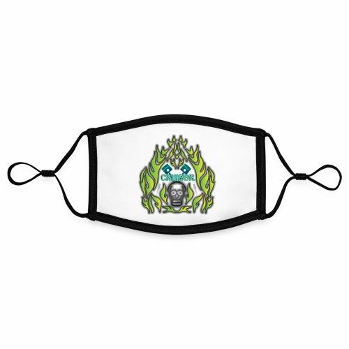 Cruiser Skull Green - Kontrastmaske, einstellbar (Small)