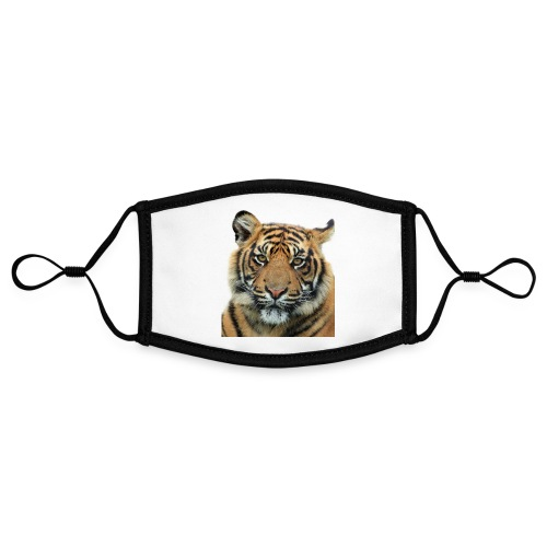 tiger 714380 - Mascherina in contrasto cromatico, regolabile (piccola)