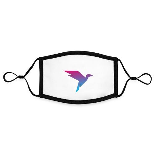 Humanisten Vogel - Kontrastmaske, einstellbar (Small)