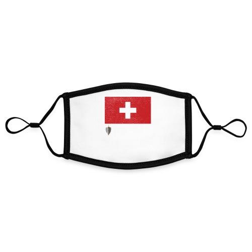 Echter Eidgenosse Schweiz - Kontrastmaske, einstellbar (Small)
