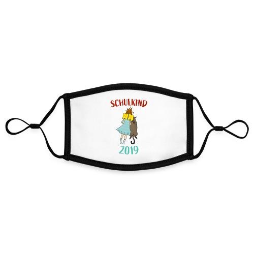 Schulkind 2019   Einschulung und Schulanfang - Kontrastmaske, einstellbar (Small)