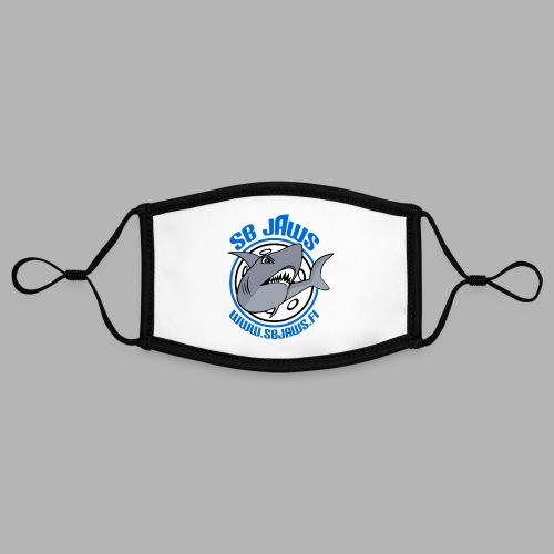 SB JAWS - Kontrastivärinen maski, säädettävä (small)