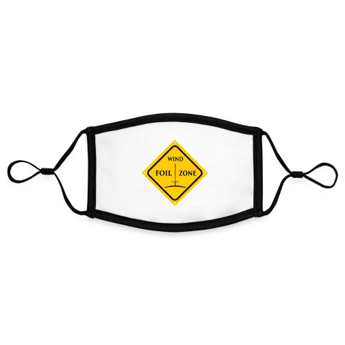 WINDFOIL zone logo new smaller - Contrast mask, adjustable (small)