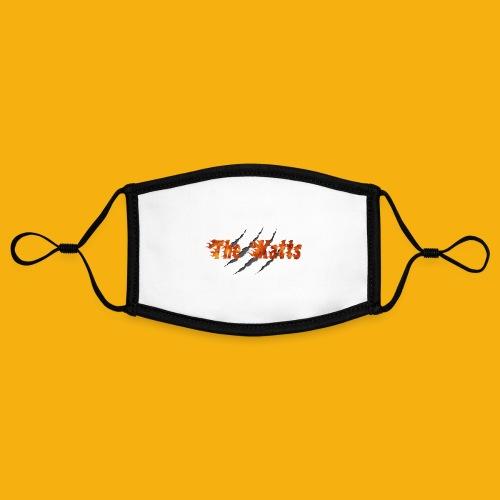 The Katts (logo 21x11) - Masque contrasté, réglable (taille S)