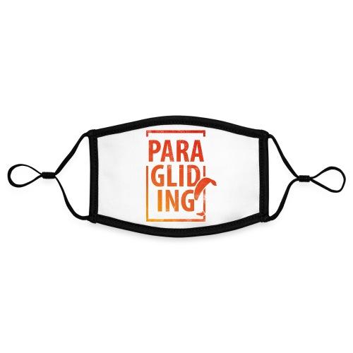 Paragliding Gleitschirmfliegen Paragleiten - Kontrastmaske, einstellbar (Small)