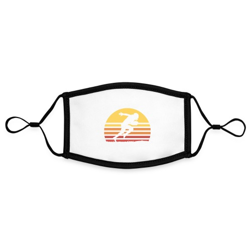 Football Sunset - Kontrastmaske, einstellbar (Small)