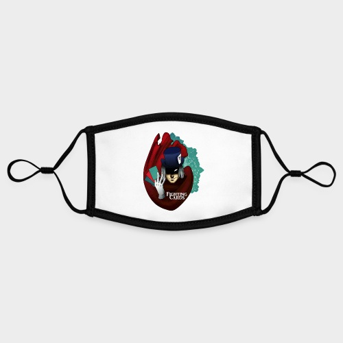 Fighting cards - Magicien - Masque contrasté, réglable (taille S)