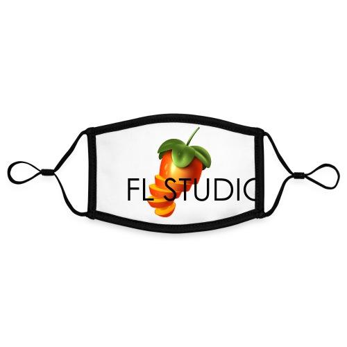 Sliced Sweaty Fruit - Contrast mask, adjustable (small)